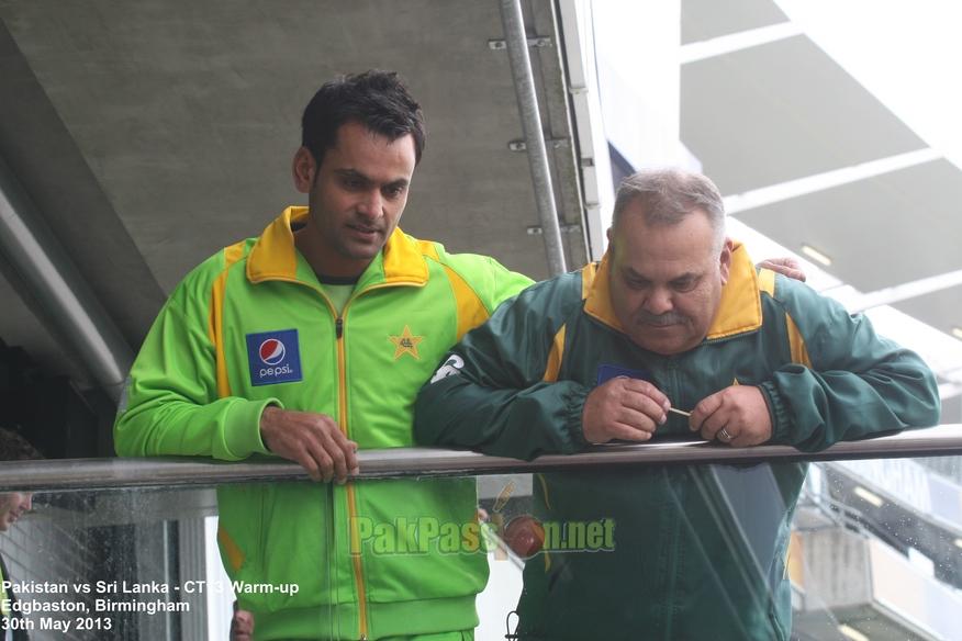 Pakistan vs Sri Lanka - CT13 Warm-Up