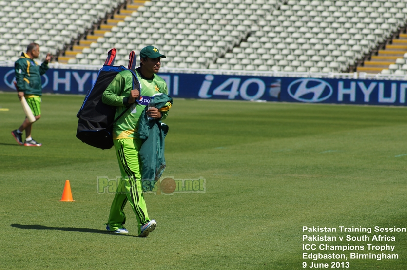Pakistan vs South Africa Champions Trophy Training