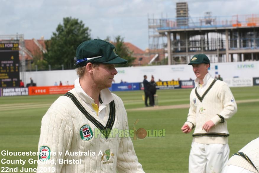 Gloucestershire vs Australia A