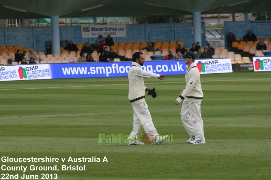 Gloucestershire vs Australia A