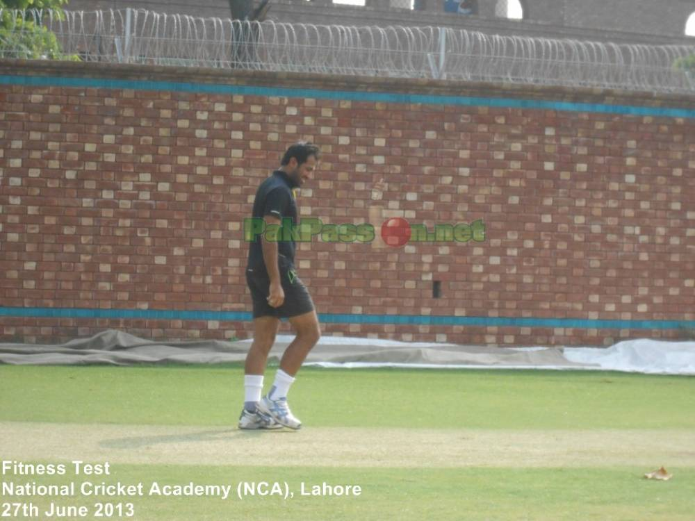 Fitness Test National Cricket Academy Nca Lahore My