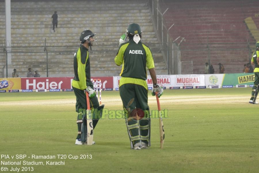 PIA vs SBP - Ramadan T20 Cup 2013