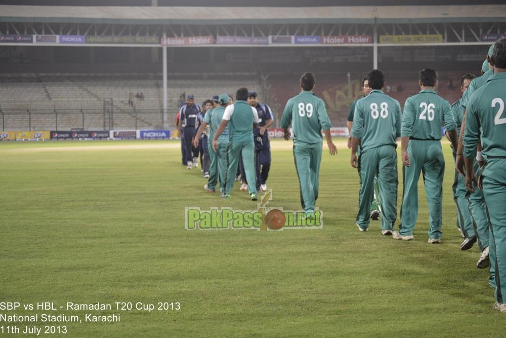 SBP vs HBL - Ramadan T20 Cup 2013