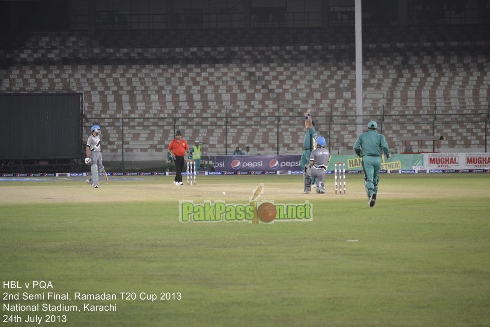 HBL vs PQA - Semi Final - Ramadan T20 Cup 2013
