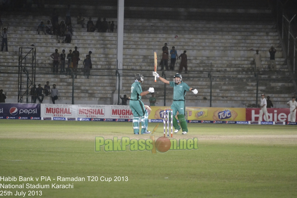 Ramadan T20 Cup Final 2013 HBL v PIA