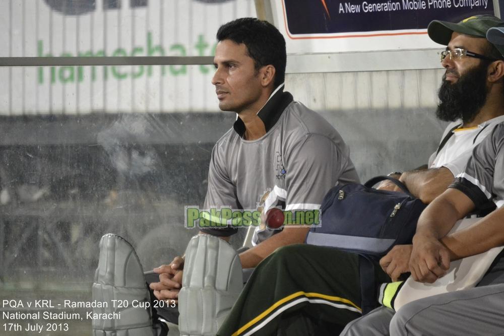PQA vs KRL - Ramadan T20 Cup 2013