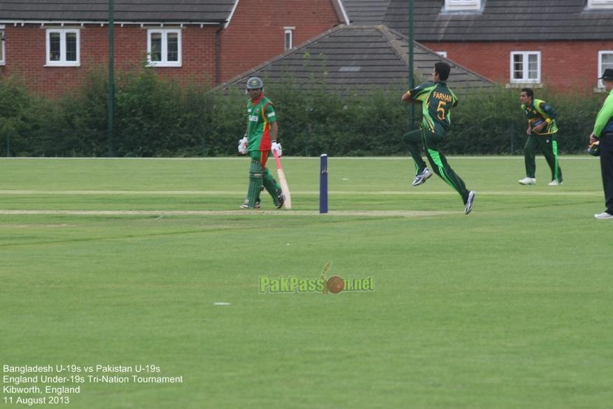 Bangladesh U19 vs Pakistan U19