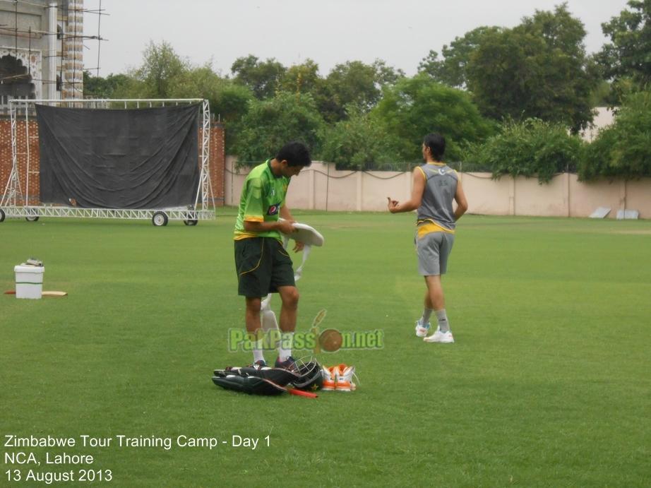 Pakistan Tour of Zimbabwe - Training Camp - Day 1