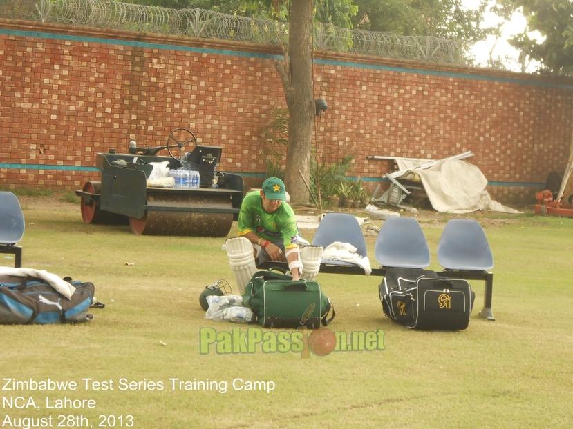 Zimbabwe Test Series Training Camp
