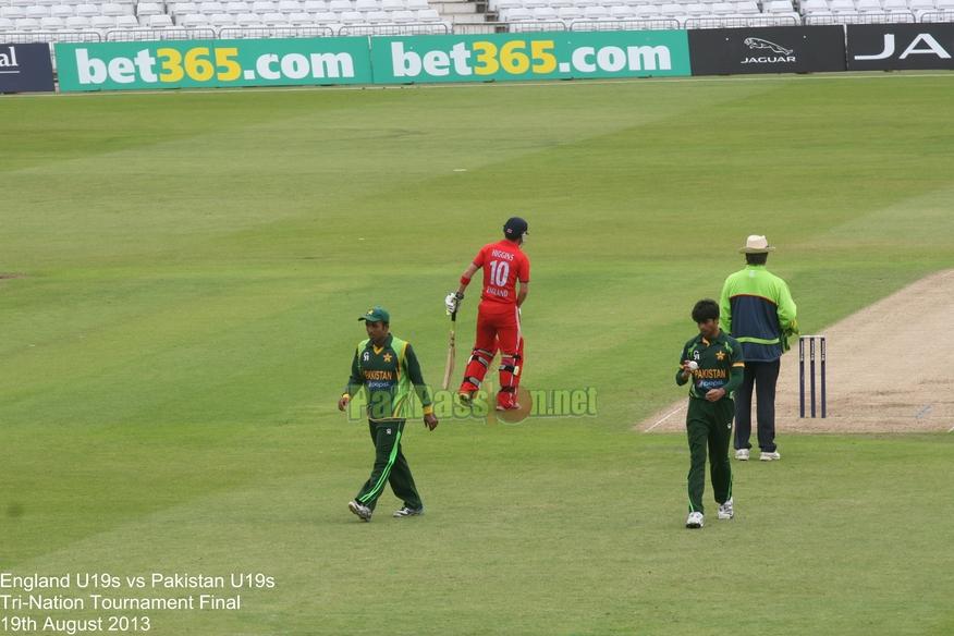 England U19 vs Pakistan - Tri-Nation Final