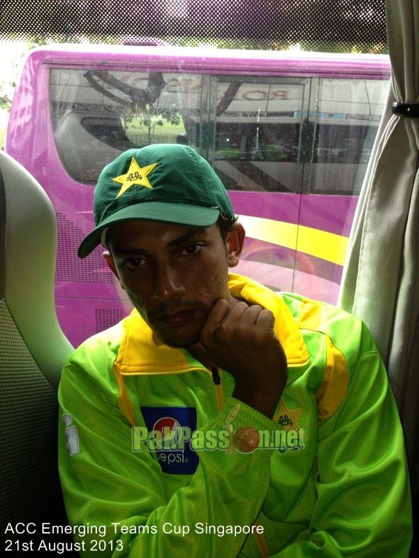 Pakistan U23 players in Singapore