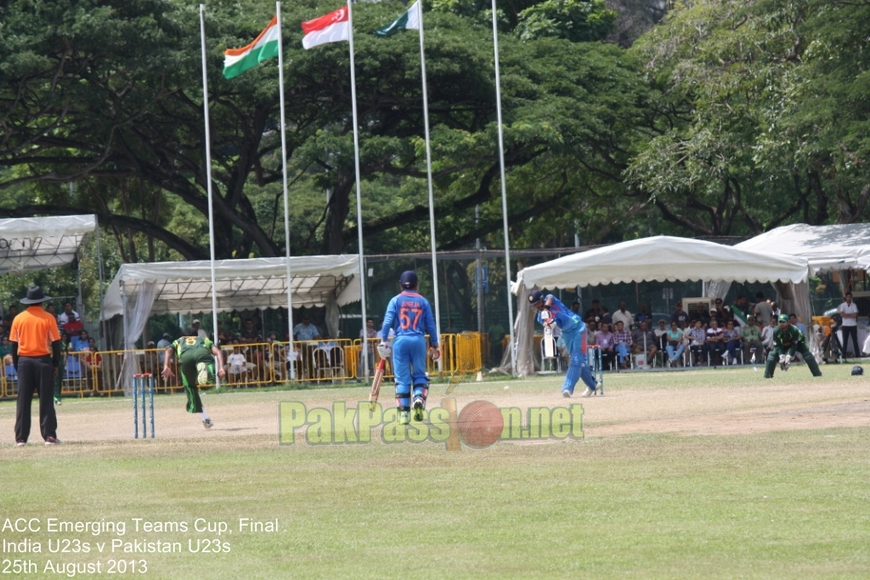 India U23s vs Pakistan U23s - Tournament Final