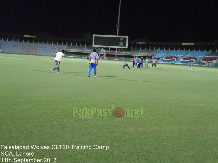 Faisalabad Wolves CLT20 Training Camp, Gaddafi Stadium, Lahore