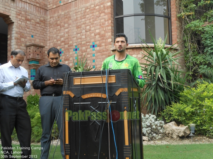 Pakistan Training Camp. National Cricket Academy