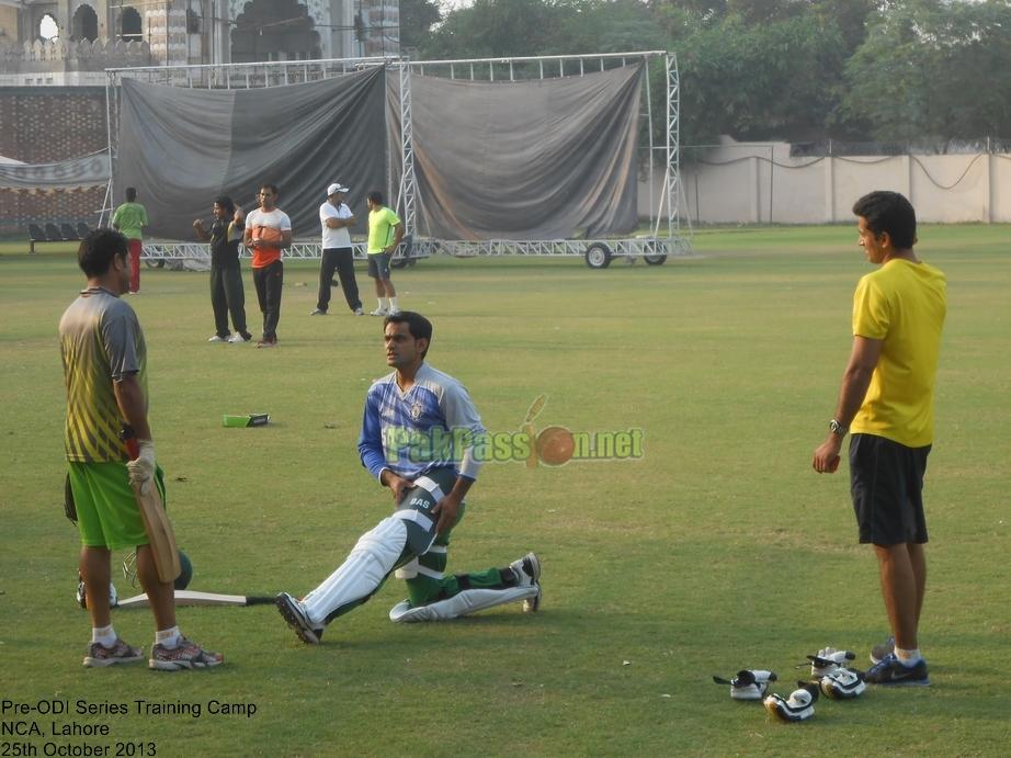 Pakistan vs South Africa Pre-ODI Series Training Camp, NCA, Lahore