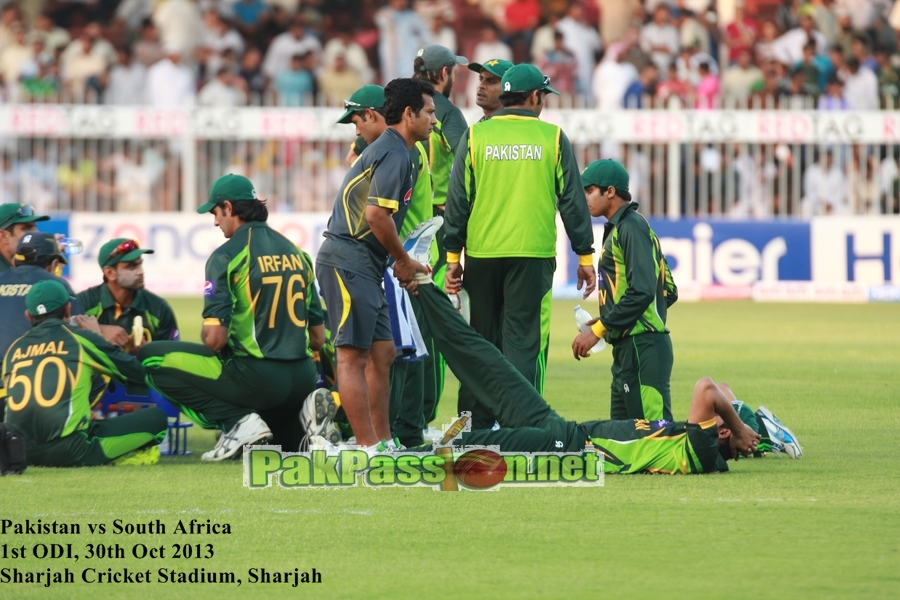 Pakistan vs South Africa, 1st ODI, Sharjah