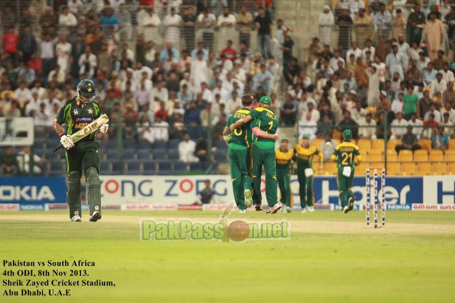 Pakistan VS South Africa - Dubai - 4th ODI - 8th November