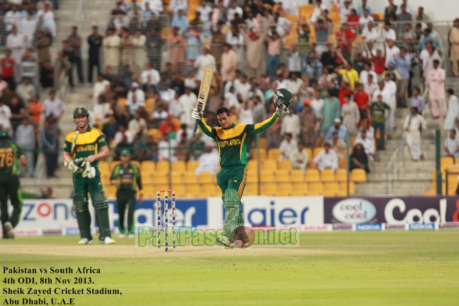 4th ODI | Pakistan vs South Africa | Abu Dhabi