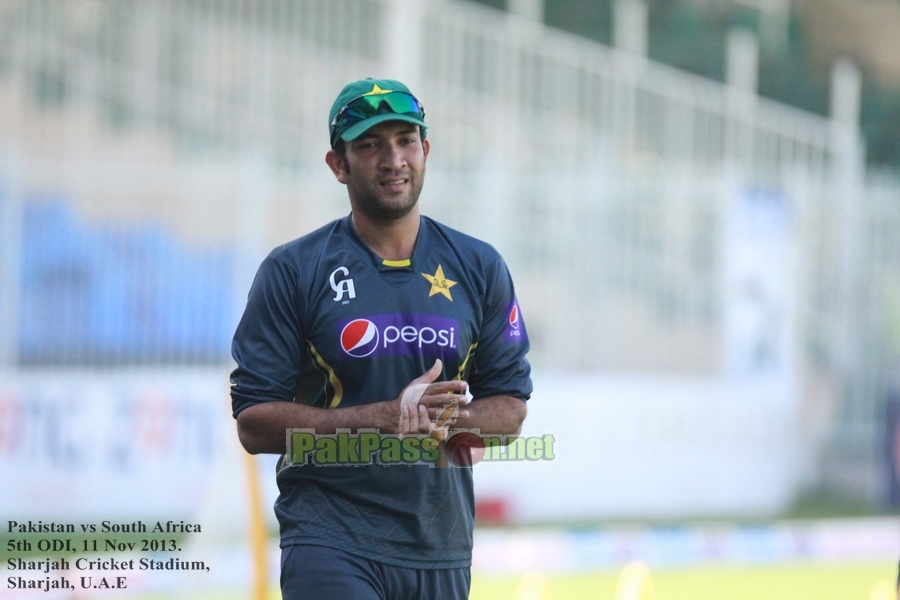Sohaib Maqsood will miss the New Zealand LOIs due to wrist fracture