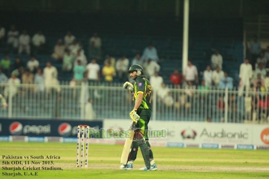 5th ODI: Pakistan vs South Africa at Sharjah, November 11th, 2013