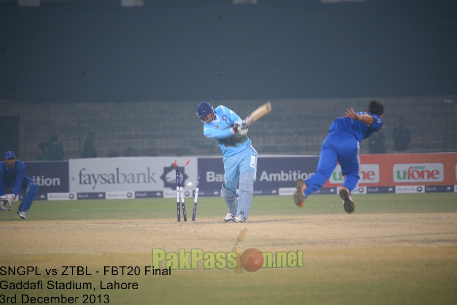 Faysal Bank T20 Cup for Departments 2013/14