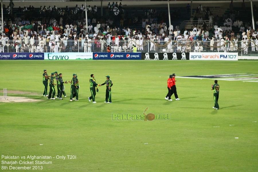 Pakistan vs Afghanistan, Only T20I, Sharjah