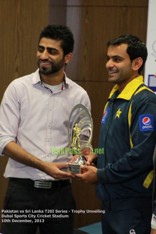 Pakistan vs Sri Lanka T20I Series - Trophy Unveiling