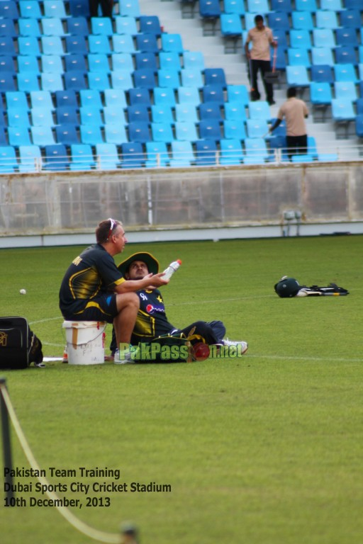 1st T20I Practice Session