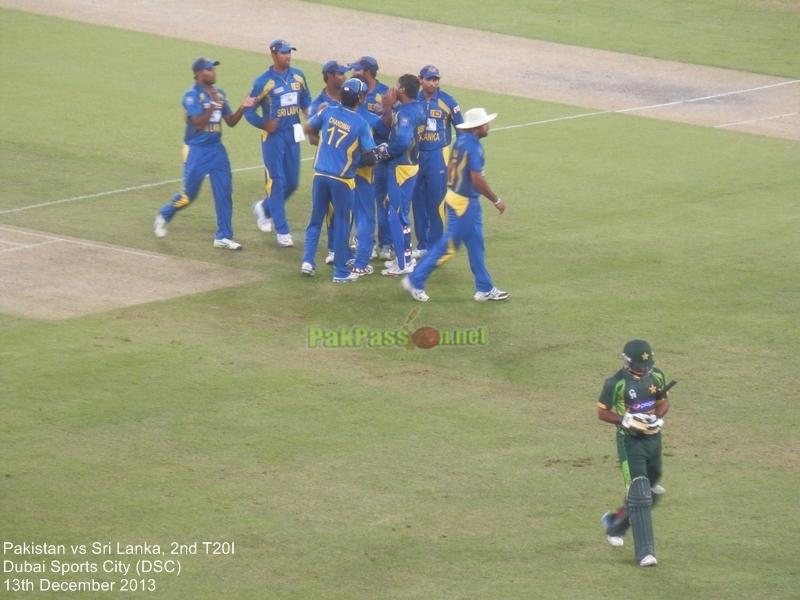 Pakistan vs Sri Lanka, 2nd T20I, Dubai