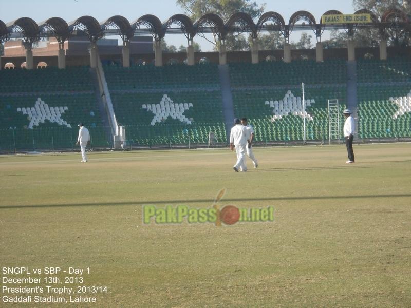SNGPL vs SBP, President's Trophy, Gaddafi Stadium, Lahore