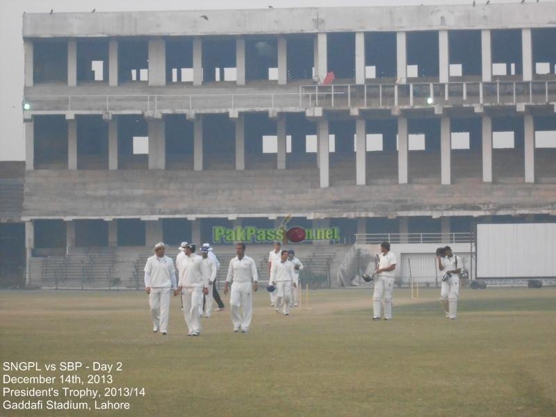 SNGPL vs SBP, Gaddafi Stadium, Lahore