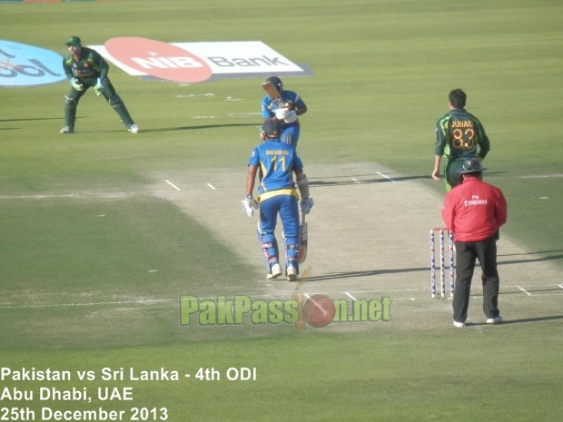 4th ODI: Pakistan vs Sri Lanka at Abu Dhabi