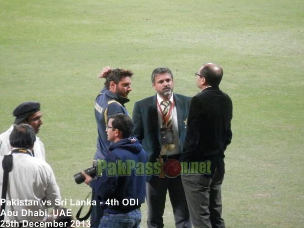 4th ODI: Pakistan vs Sri Lanka at Abu Dhabi