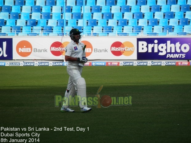 Pakistan vs Sri Lanka, 2nd Test, Day 1, Dubai