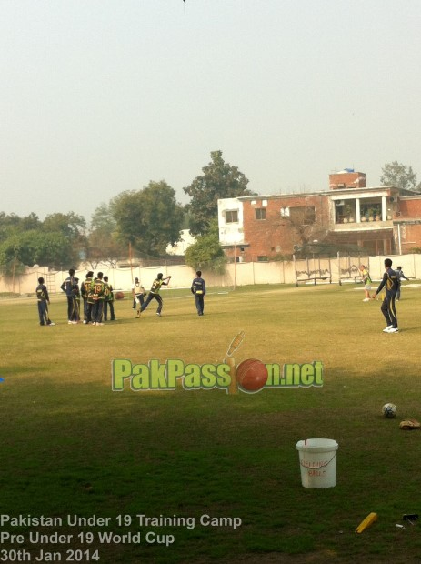 Pakistan Under-19 World Cup Training Camp 2014