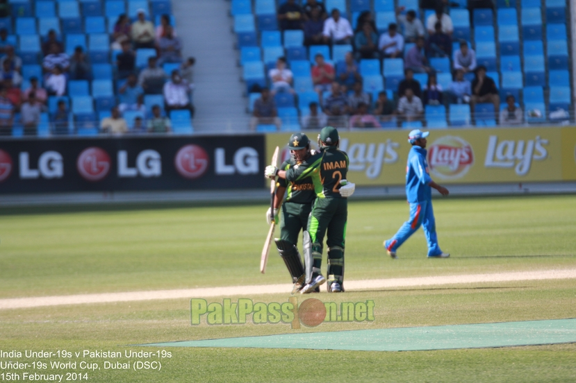 U19 India vs U19 Pakistan, ICC U19 World Cup 2014