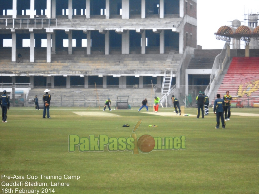 Pre-Asia Cup Training Camp, Lahore