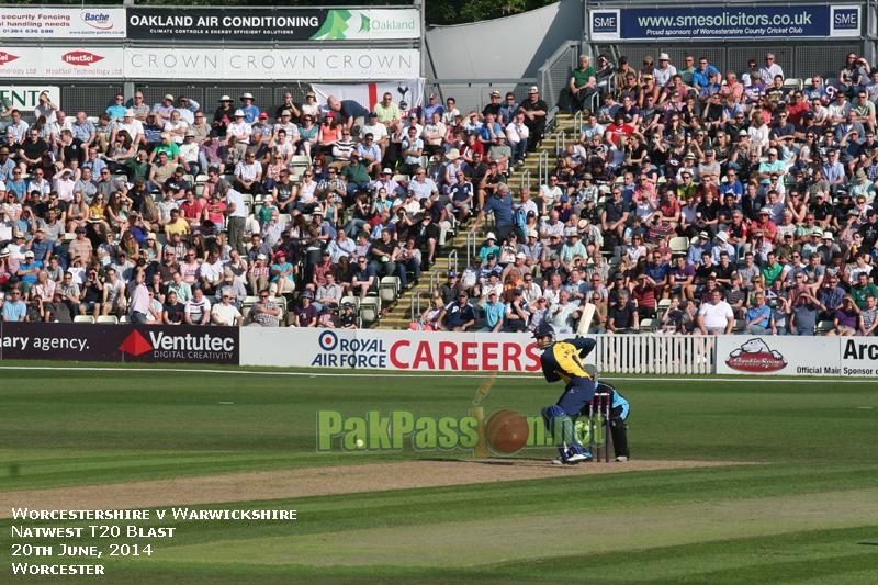 Natwest T20 Blast 2014: Warwickshire v Worcestershire