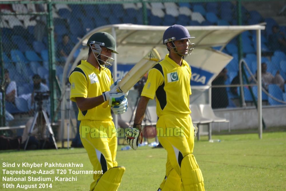 Sind vs KPK - Taqreebat-e-Azadi T20 Tournament 2014