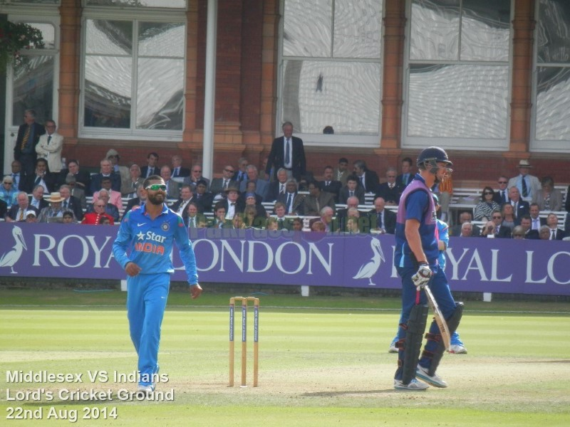 Middlesex vs Indians - Lords 2014