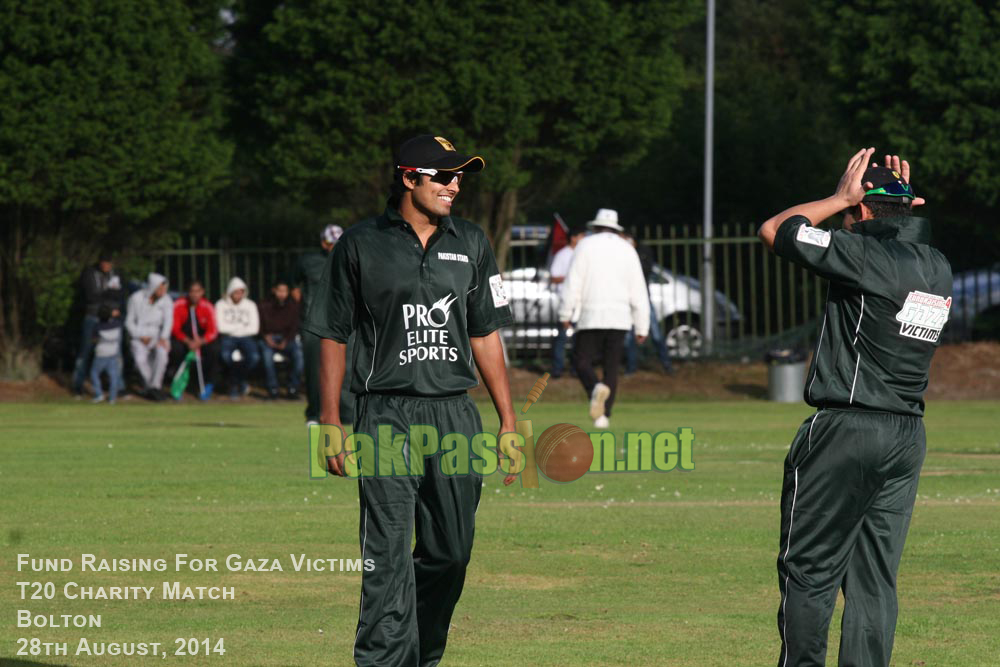 Fund Raising T20 Match for Gaza Victims - Bolton