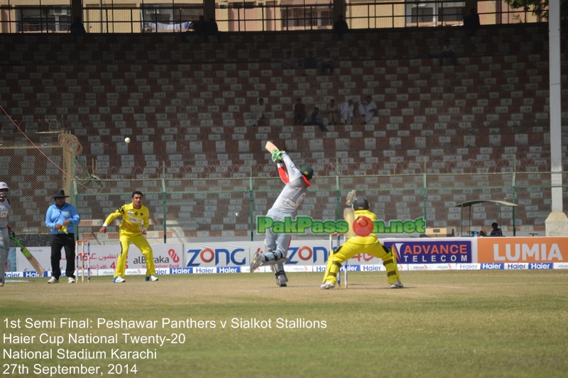 Haier Cup -  1st Semi Final - Peshawar Panthers v Sialkot Stallions