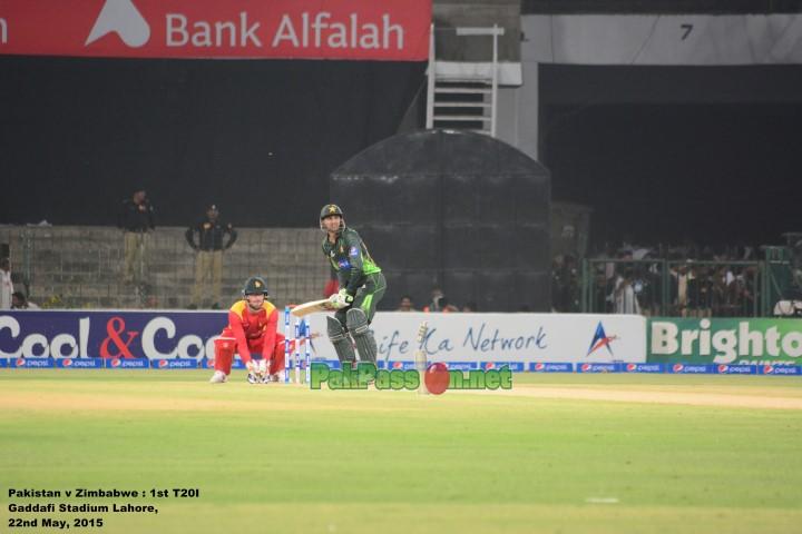 Pakistan vs Zimbabwe - 1st T20I