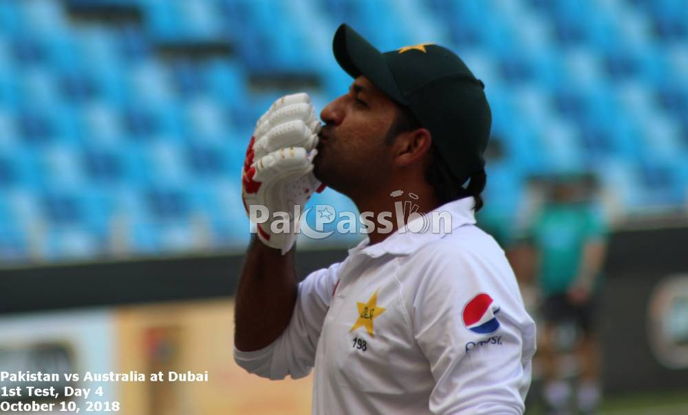 Pakistan vs Australia at Dubai 2018 - 1st Test