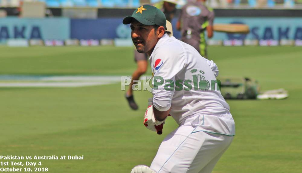 Pakistan vs Australia at Dubai 2018 - 1st Test