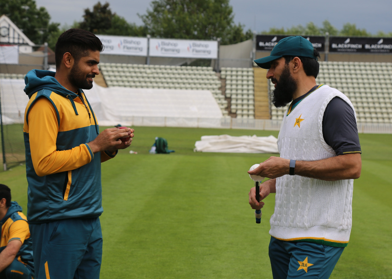 Pakistan squad continues training at Worcester ahead of England series