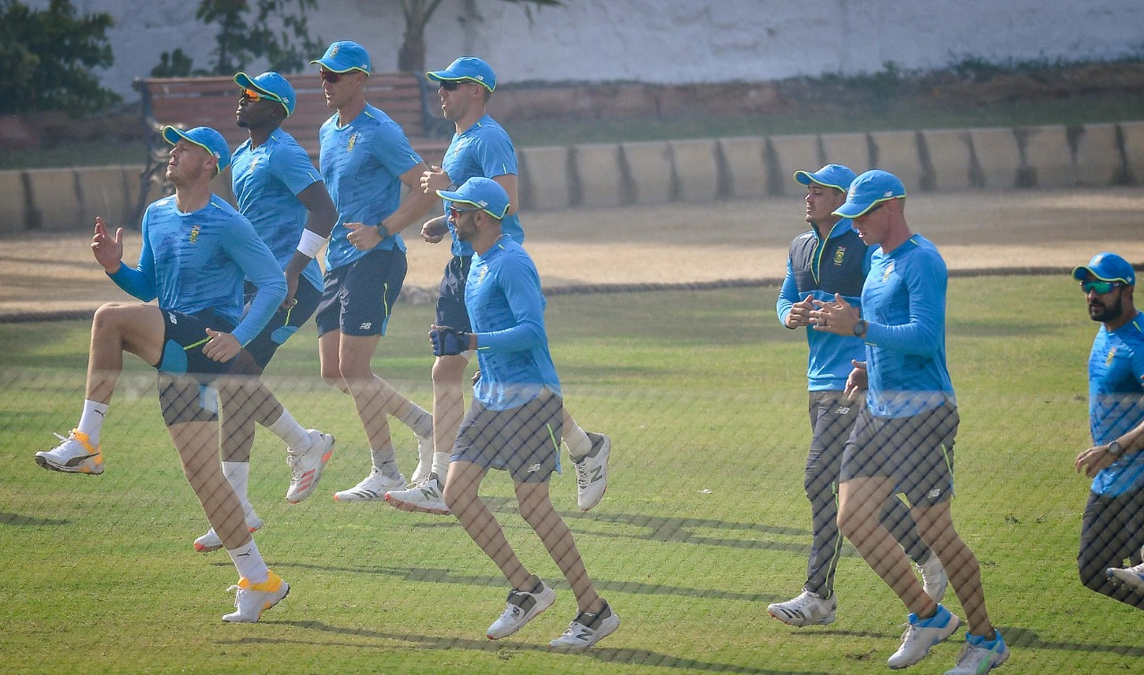 South Africa Test squad starts practice ahead of the 2-match series against Pakistan