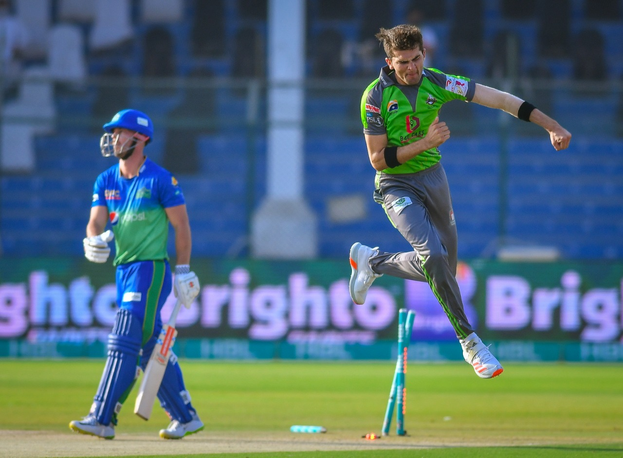 Shaheen Shah Afridi takes 100 T20 wickets
