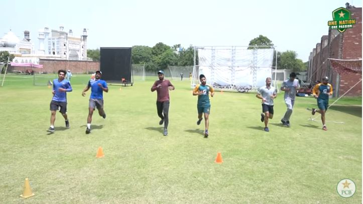 Twenty-six top-performing cricketers train at the National High Performance Camp in Lahore