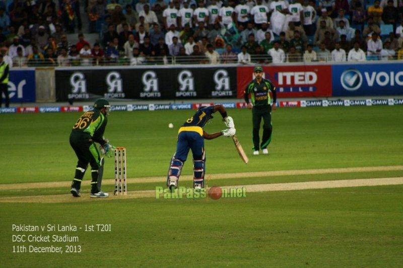 Pictures from 1st T20I between Pakistan and Sri Lanka in Dubai
